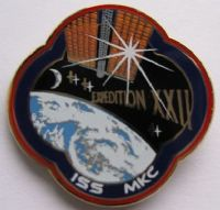 Expedition 22 ISS International Space Station Mission Lapel Pin Official NASA